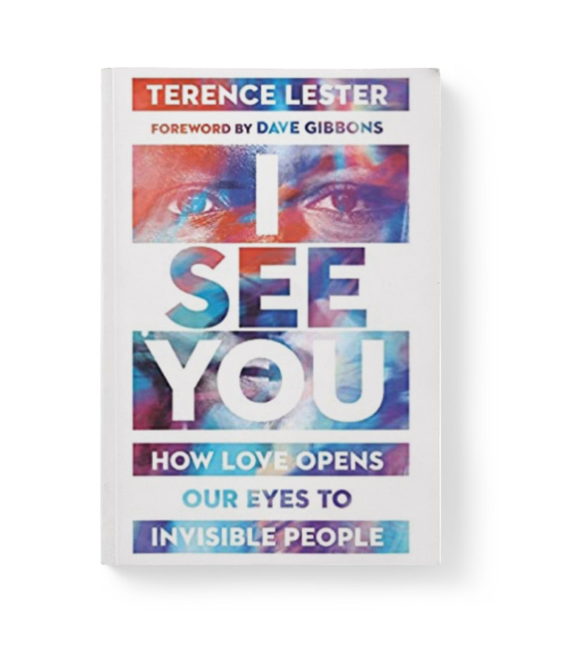 Cover of I see you book showing a persons eyes and bold text